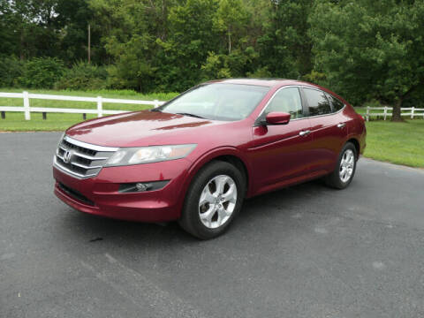 2010 Honda Accord Crosstour for sale at Woodcrest Motors in Stevens PA