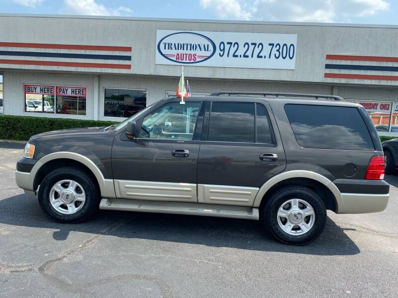 2006 Ford Expedition for sale at Traditional Autos in Dallas TX