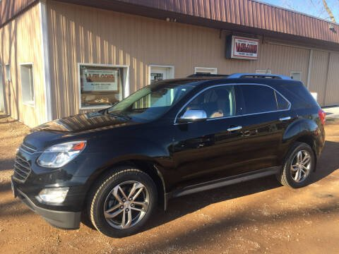 2017 Chevrolet Equinox for sale at Palmer Welcome Auto in New Prague MN