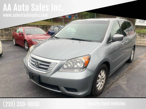 2008 Honda Odyssey for sale at AA Auto Sales Inc. in Gary IN