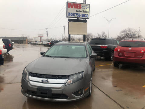 2010 Ford Fusion Hybrid for sale at MB Auto Sales in Oklahoma City OK