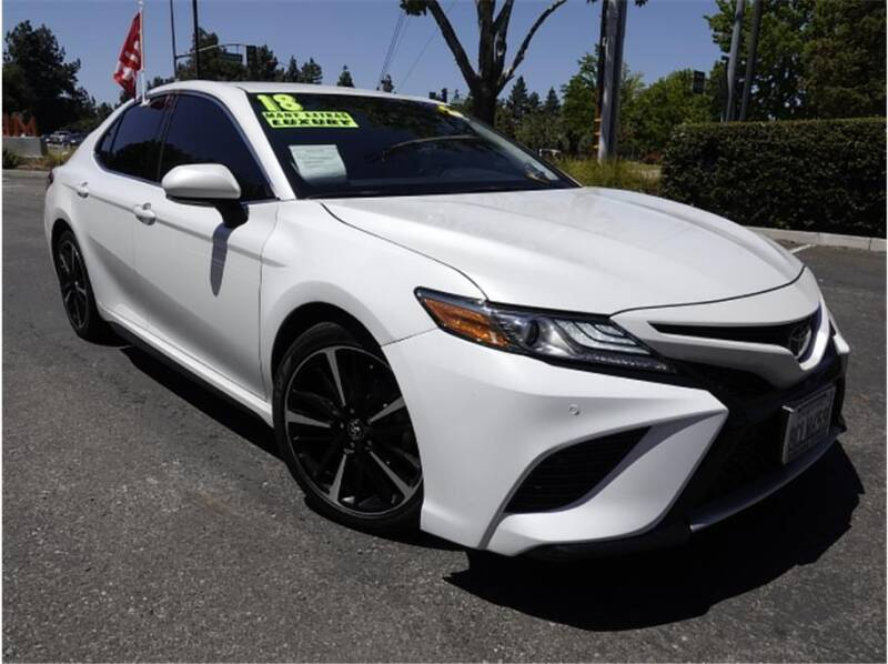 2018 Toyota Camry for sale at BAY AREA CAR SALES in San Jose CA