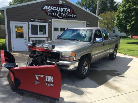 2001 GMC Sierra 2500 for sale at Augusta Tire & Auto in Augusta WI