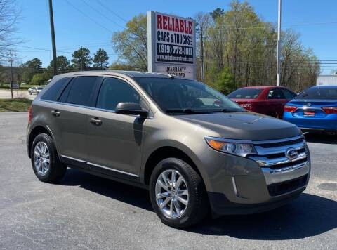 2013 Ford Edge for sale at Reliable Cars & Trucks LLC in Raleigh NC