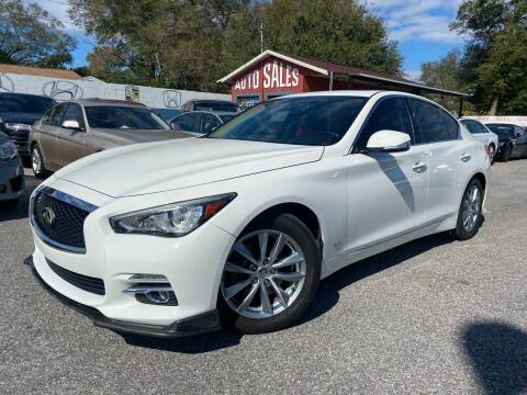 2017 Infiniti Q50 for sale at CHECK  AUTO INC. in Tampa FL
