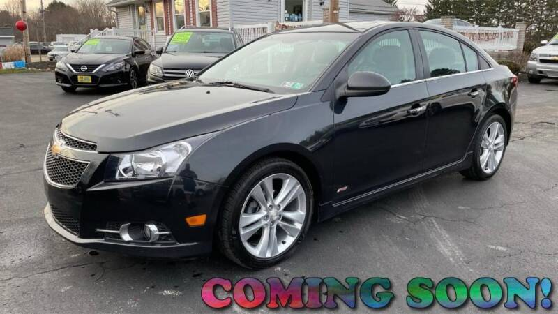 2014 Chevrolet Cruze for sale at RBT Automotive LLC in Perry OH