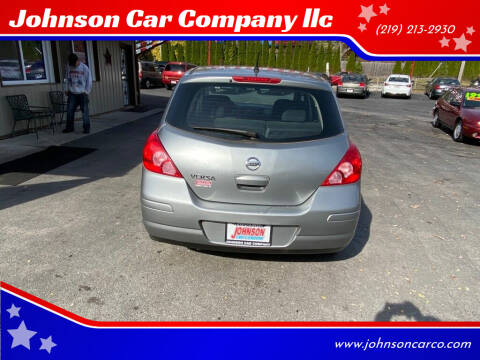 2011 Nissan Versa for sale at Johnson Car Company llc in Crown Point IN