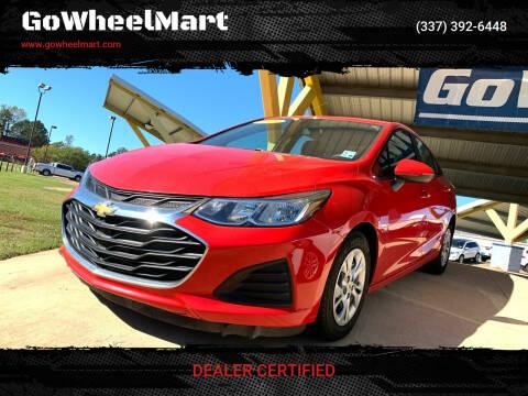 2019 Chevrolet Cruze for sale at GoWheelMart in Leesville LA
