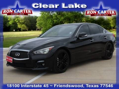 2014 Infiniti Q50 for sale at Ron Carter  Clear Lake Used Cars in Houston TX