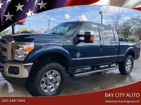 2013 Ford F-250 Super Duty for sale at Bay City Auto's in Mobile AL