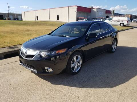 2013 Acura TSX for sale at Image Auto Sales in Dallas TX