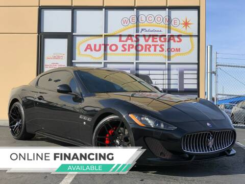 2013 Maserati GranTurismo for sale at Las Vegas Auto Sports in Las Vegas NV
