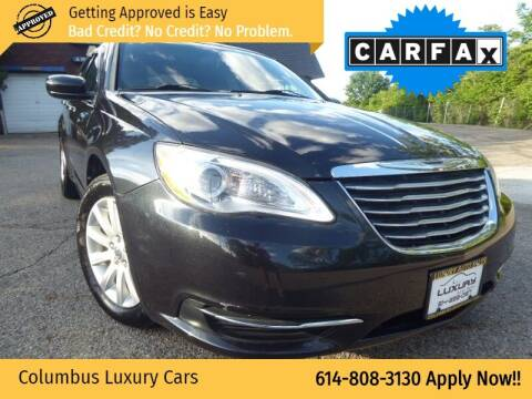 2013 Chrysler 200 for sale at Columbus Luxury Cars in Columbus OH