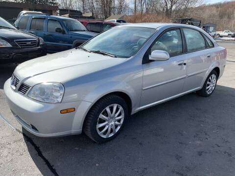 2005 Suzuki Forenza for sale at GMG AUTO SALES in Scranton PA