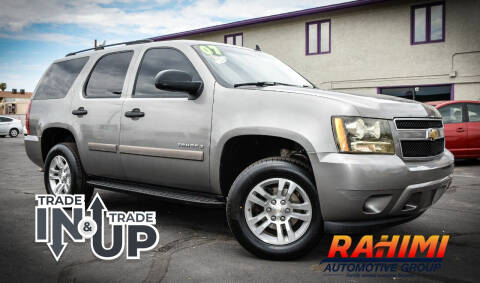 2007 Chevrolet Tahoe for sale at Rahimi Automotive Group in Yuma AZ