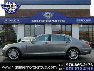 2012 Mercedes-Benz S-Class for sale at Highline Group Motorsports in Lowell MA