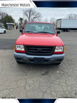 2002 Ford Ranger for sale at Manchester Motors in Manchester CT