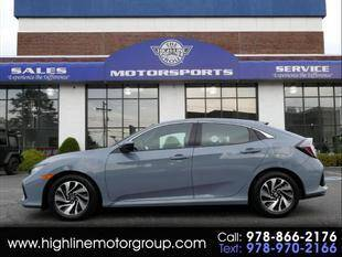 2019 Honda Civic for sale at Highline Group Motorsports in Lowell MA