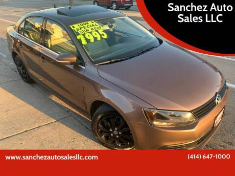 2011 Volkswagen Jetta for sale at Sanchez Auto Sales LLC in Milwaukee WI