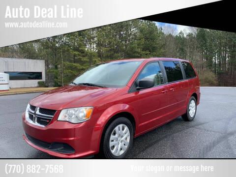 2014 Dodge Grand Caravan for sale at Auto Deal Line in Alpharetta GA
