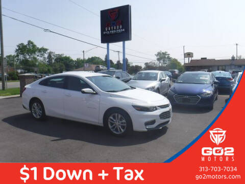 2018 Chevrolet Malibu for sale at Go2Motors in Redford MI