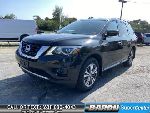 2018 Nissan Pathfinder for sale at Baron Super Center in Patchogue NY