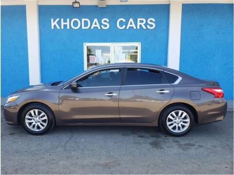 2016 Nissan Altima for sale at Khodas Cars in Gilroy CA