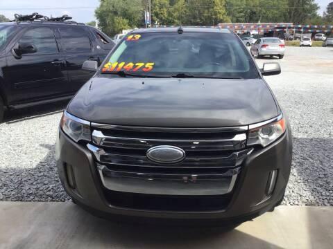 2013 Ford Edge for sale at K & E Auto Sales in Ardmore AL