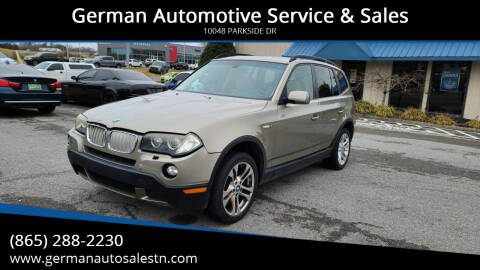 2008 BMW X3 for sale at German Automotive Service & Sales in Knoxville TN