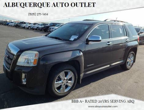2015 GMC Terrain for sale at ALBUQUERQUE AUTO OUTLET in Albuquerque NM