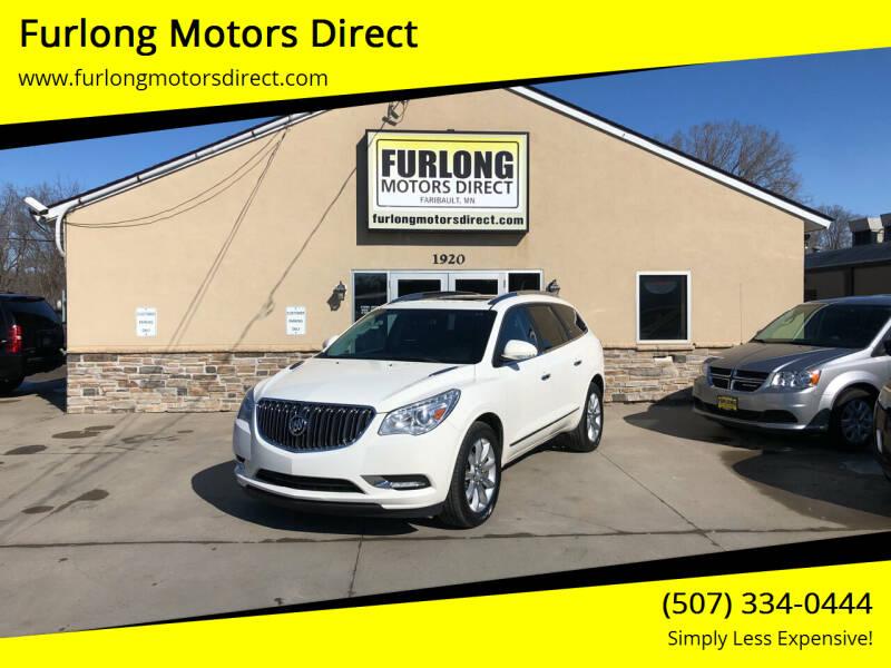 2014 Buick Enclave for sale at Furlong Motors Direct in Faribault MN