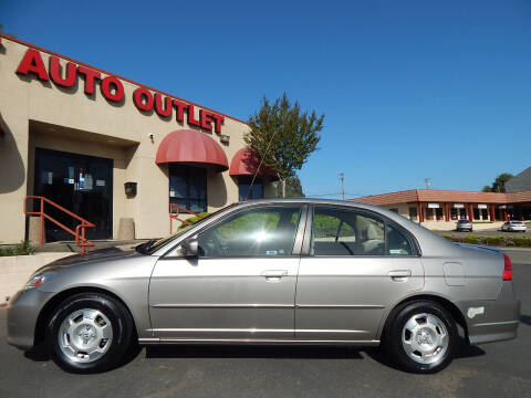 2004 Honda Civic for sale at Direct Auto Outlet LLC in Fair Oaks CA