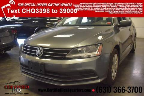 2017 Volkswagen Jetta for sale at CERTIFIED HEADQUARTERS in St James NY