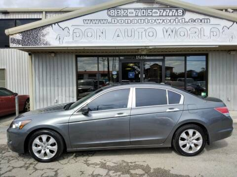 2008 Honda Accord for sale at Don Auto World in Houston TX