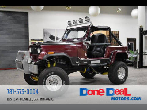 1978 Jeep CJ-7 for sale at DONE DEAL MOTORS in Canton MA