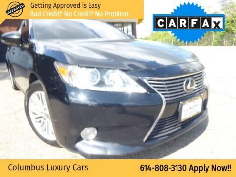 2013 Lexus ES 350 for sale at Columbus Luxury Cars in Columbus OH