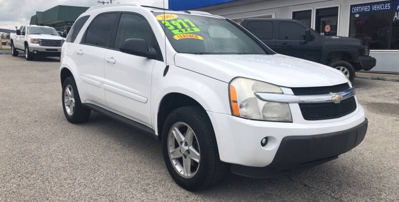 2005 Chevrolet Equinox for sale at Perrys Certified Auto Exchange in Washington IN