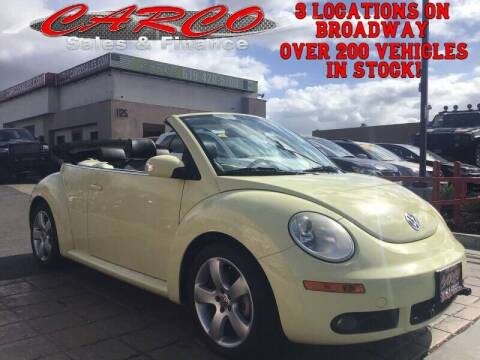 2006 Volkswagen New Beetle Convertible for sale at CARCO SALES & FINANCE in Chula Vista CA