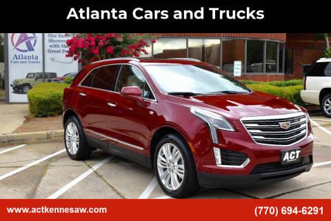 2017 Cadillac XT5 for sale at Atlanta Cars and Trucks in Kennesaw GA