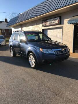 2011 Subaru Forester for sale at BRIDGEPORT MOTORS in Morganton NC