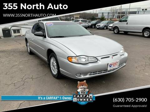 2000 Chevrolet Monte Carlo for sale at 355 North Auto in Lombard IL
