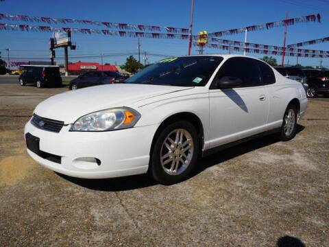 2006 Chevrolet Monte Carlo for sale at BLUE RIBBON MOTORS in Baton Rouge LA