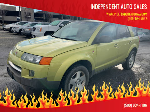 2004 Saturn Vue for sale at Independent Auto Sales in Spokane Valley WA