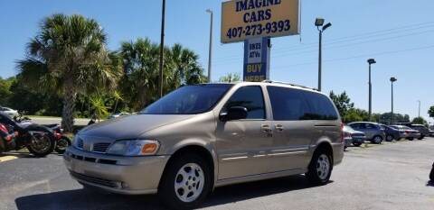 2002 Oldsmobile Silhouette for sale at IMAGINE CARS and MOTORCYCLES in Orlando FL