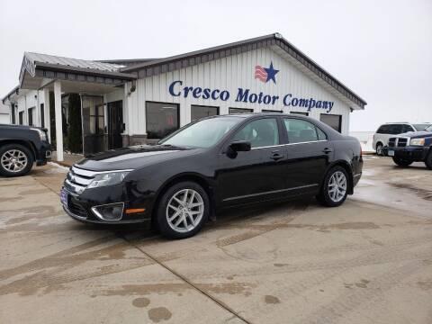 2010 Ford Fusion for sale at Cresco Motor Company in Cresco IA