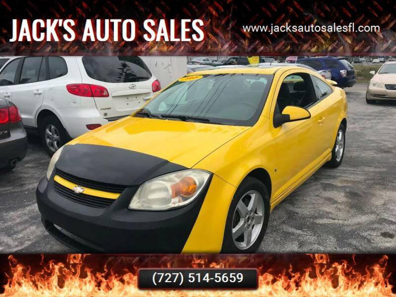 2008 Chevrolet Cobalt for sale at Jack's Auto Sales in Port Richey FL
