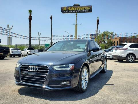 2014 Audi A4 for sale at A MOTORS SALES AND FINANCE in San Antonio TX