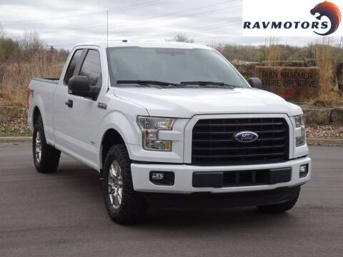 2017 Ford F-150 for sale at RAVMOTORS in Burnsville MN