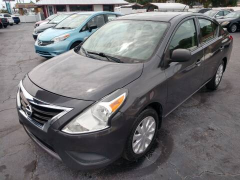2015 Nissan Versa for sale at AFFORDABLE AUTO SALES in We Finance Everyone! FL