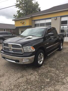2009 Dodge Ram Pickup 1500 for sale at Hines Auto Sales in Marlette MI